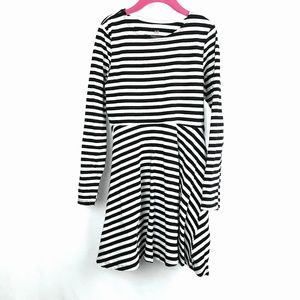 H&M Dresses - Organic Cotton Striped Skater Dress